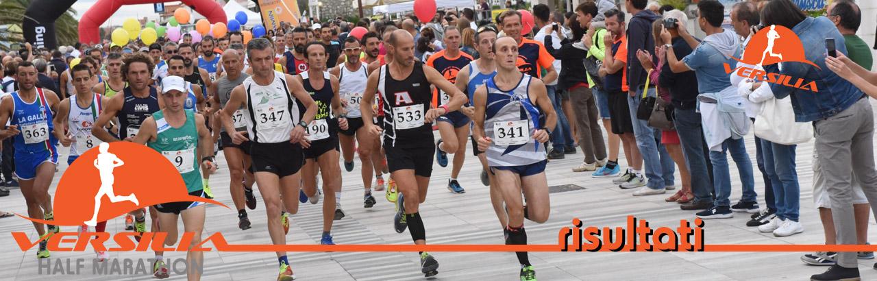 Albo d'oro risultati Mezza maratona